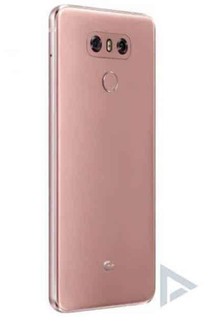 Raspberry Rose LG G6 Renders Leak, Coming Next Month