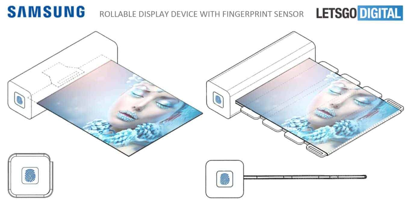 Samsung Flexible Display Device Patent 1