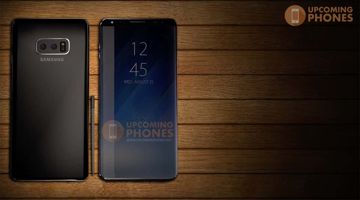 Samsung Galaxy Note 9 Concept from Upcoming Phones 01