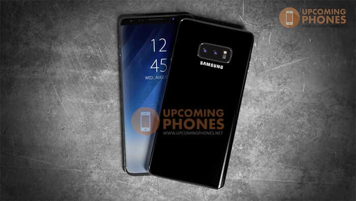 Samsung Galaxy Note 9 Concept from Upcoming Phones 07