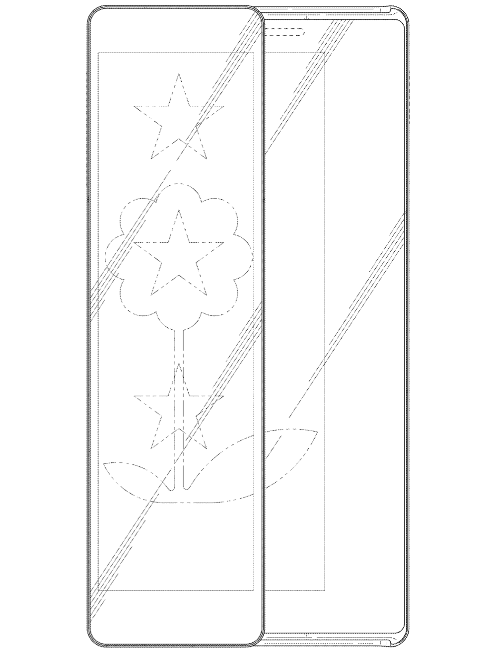 Samsung Patent Sliding Display Phone 16