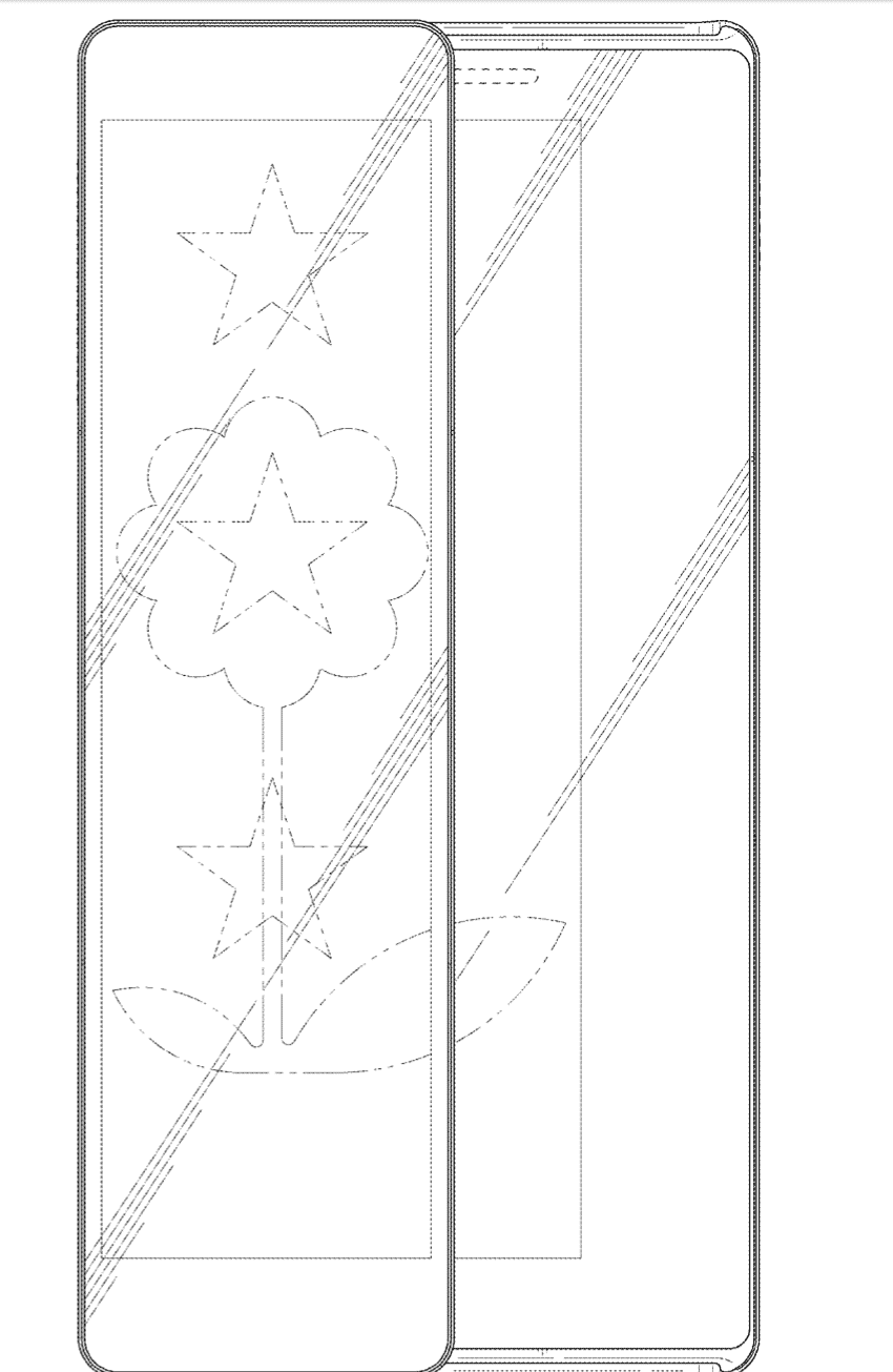 Samsung Patent Sliding Display Phone 17