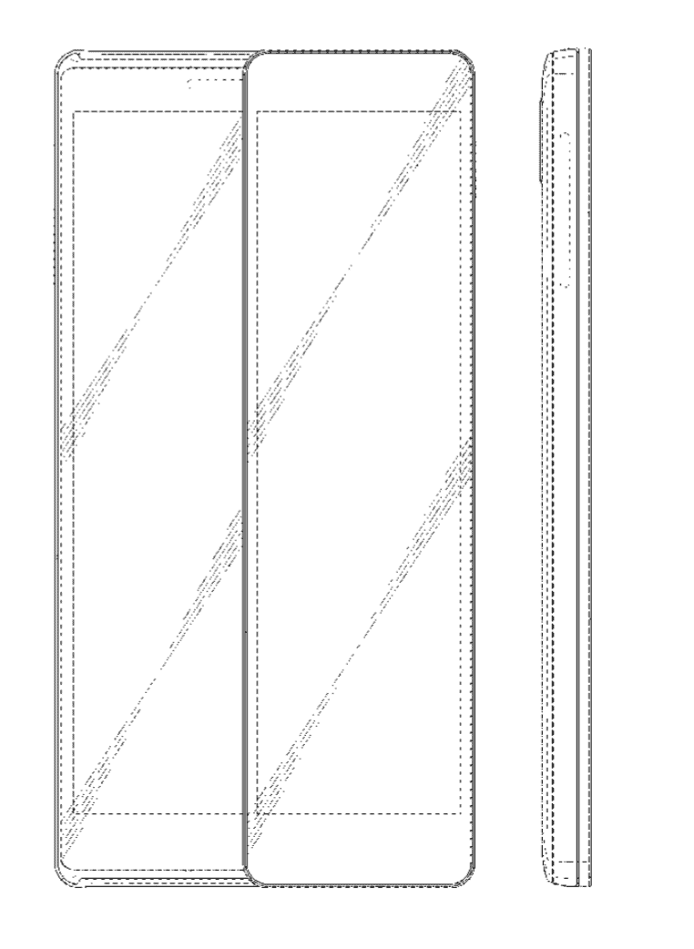 Samsung Patent Sliding Display Phone 18
