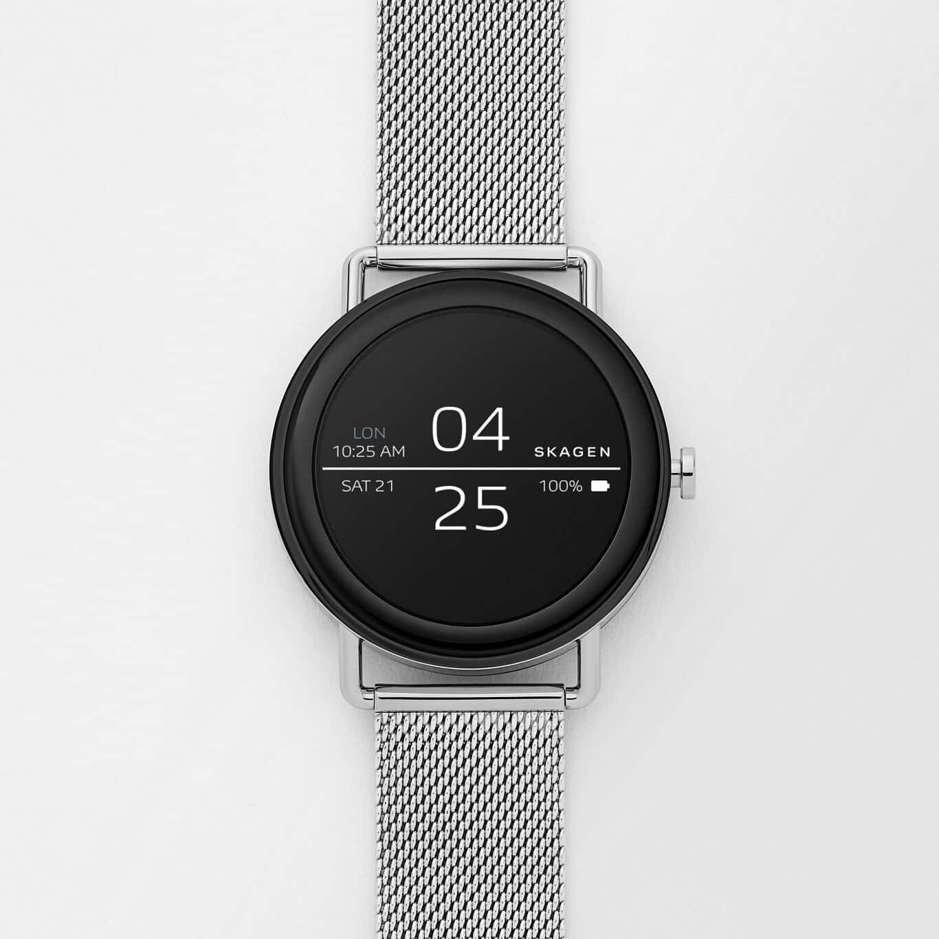Skagen Unveils Android Wear-Powered Falster Smartwatch ...