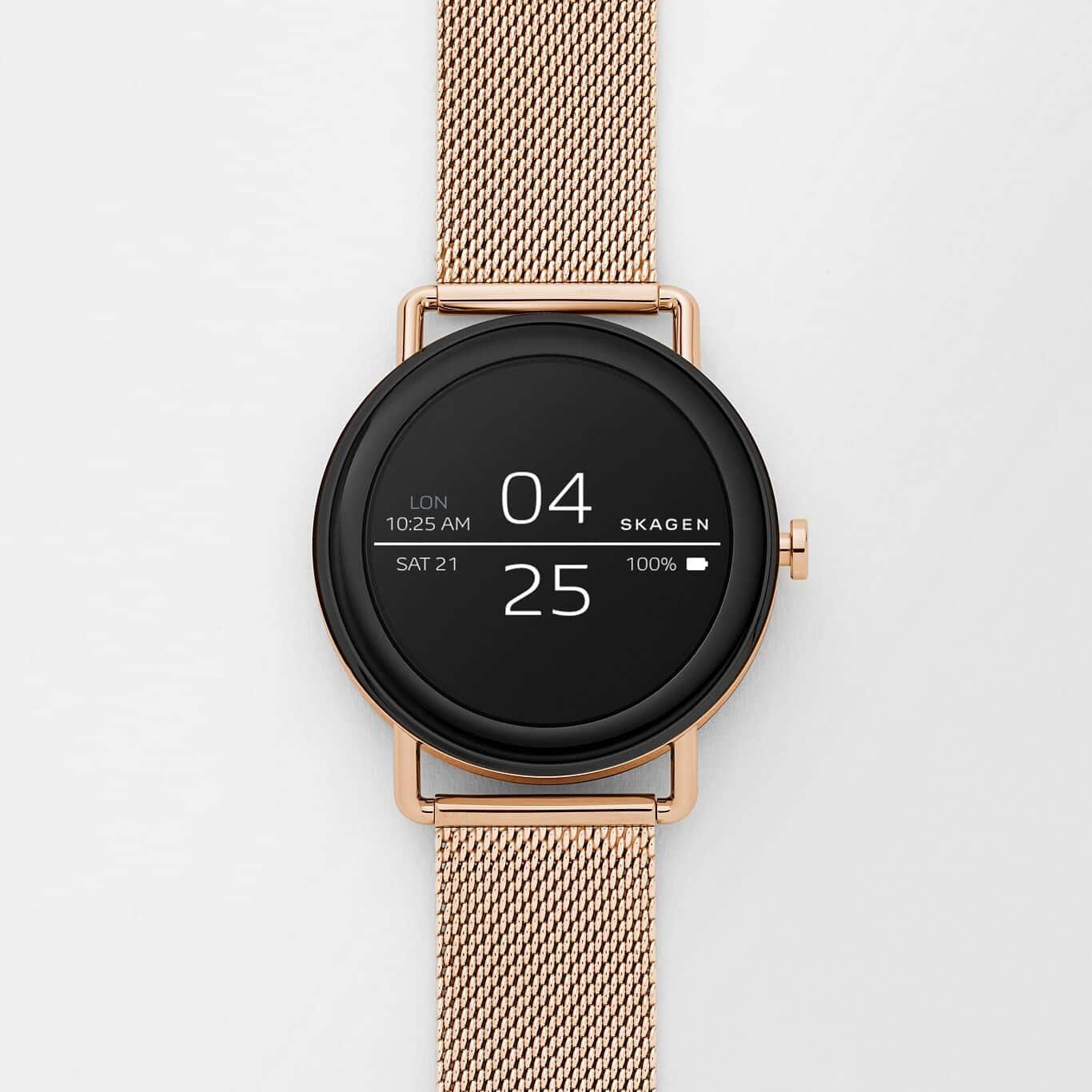 Skagen Unveils Android Wear-Powered Falster Smartwatch ...