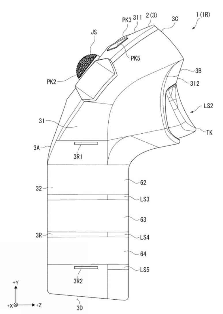 Sony Interactive Entertainment Motion Controller IP Force Patent 2018 735 005