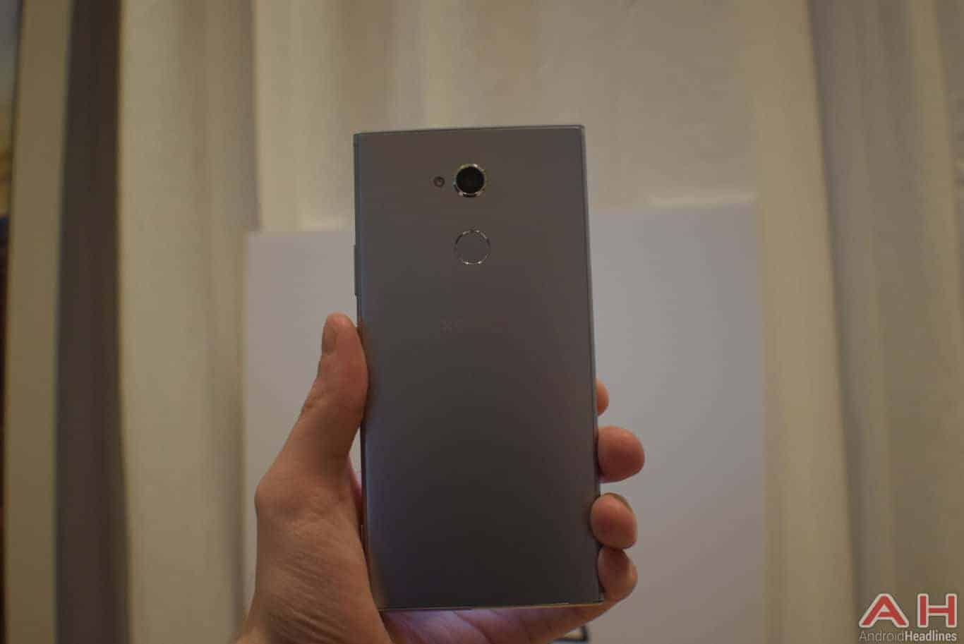Sony Xperia XA2 Ultra Hands On CES 2018 AH 8