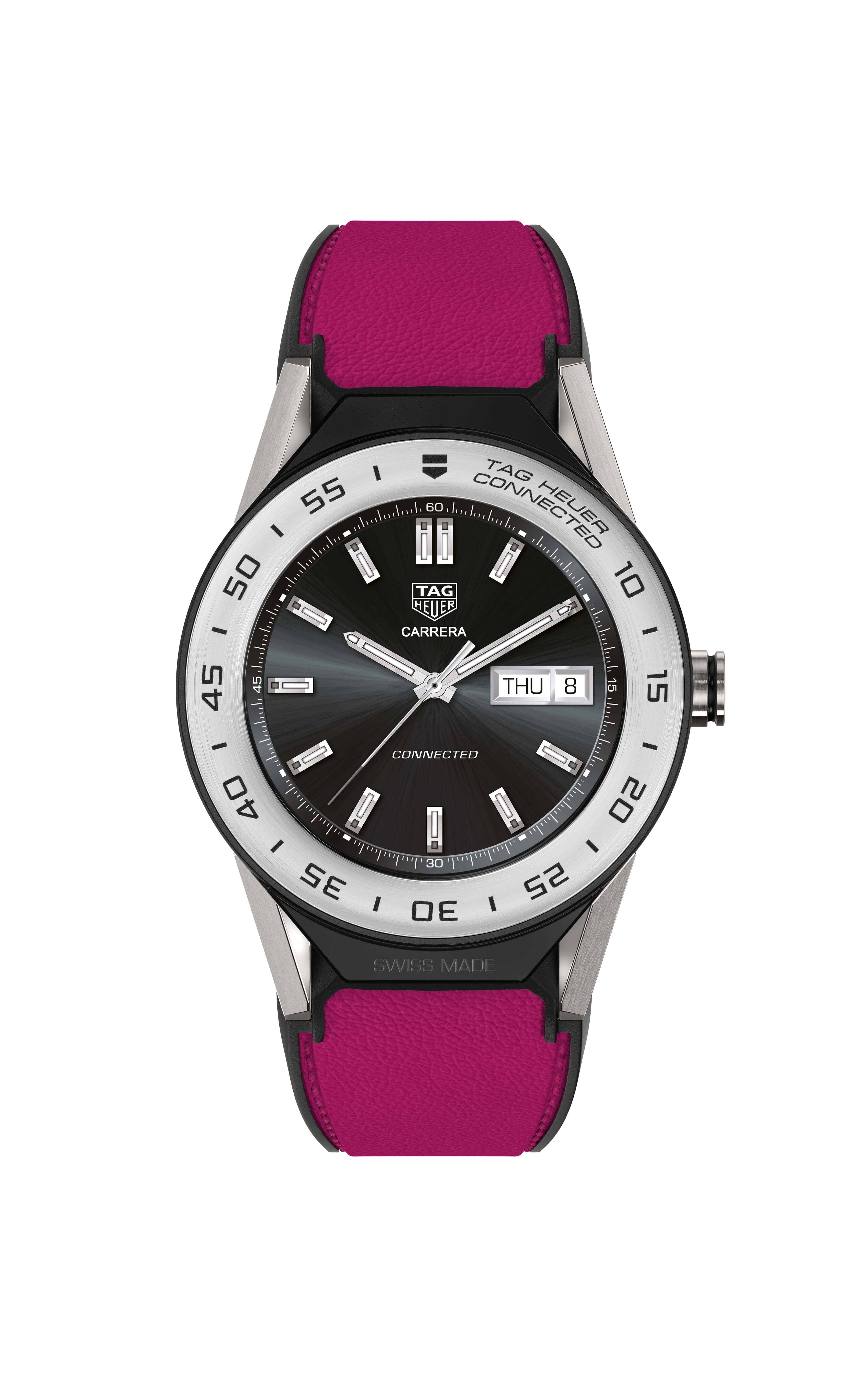 Smaller tag heuer connected 41 smartwatch has 8gb of storage android news for The tag heuer connected modular