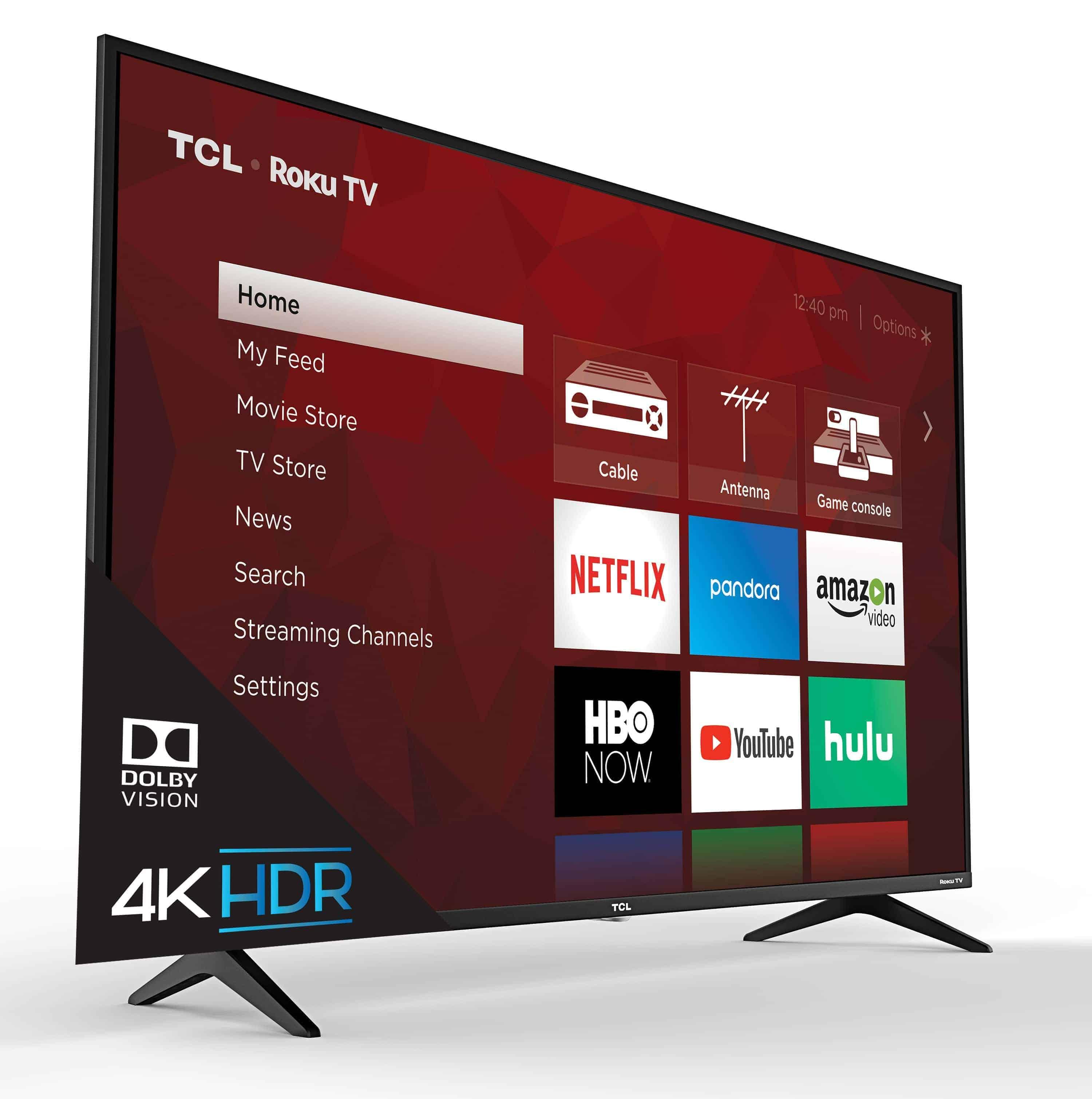 TCL 6 series TV UI angle 2