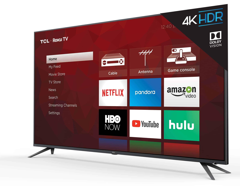 TCL 6 series TV UI angle 3