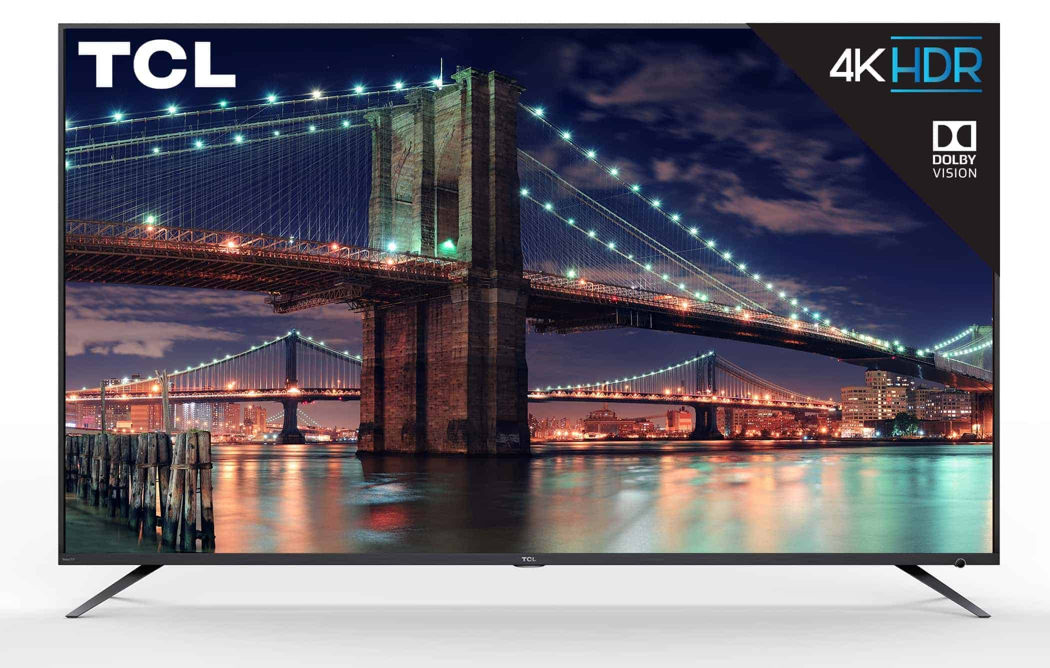 TCL 6 series TV front