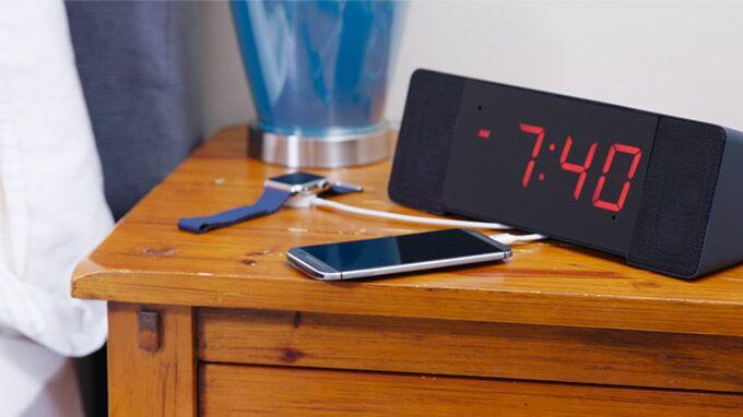 The Sandman Doppler Nightstand with Phone CES 2018 Press Image