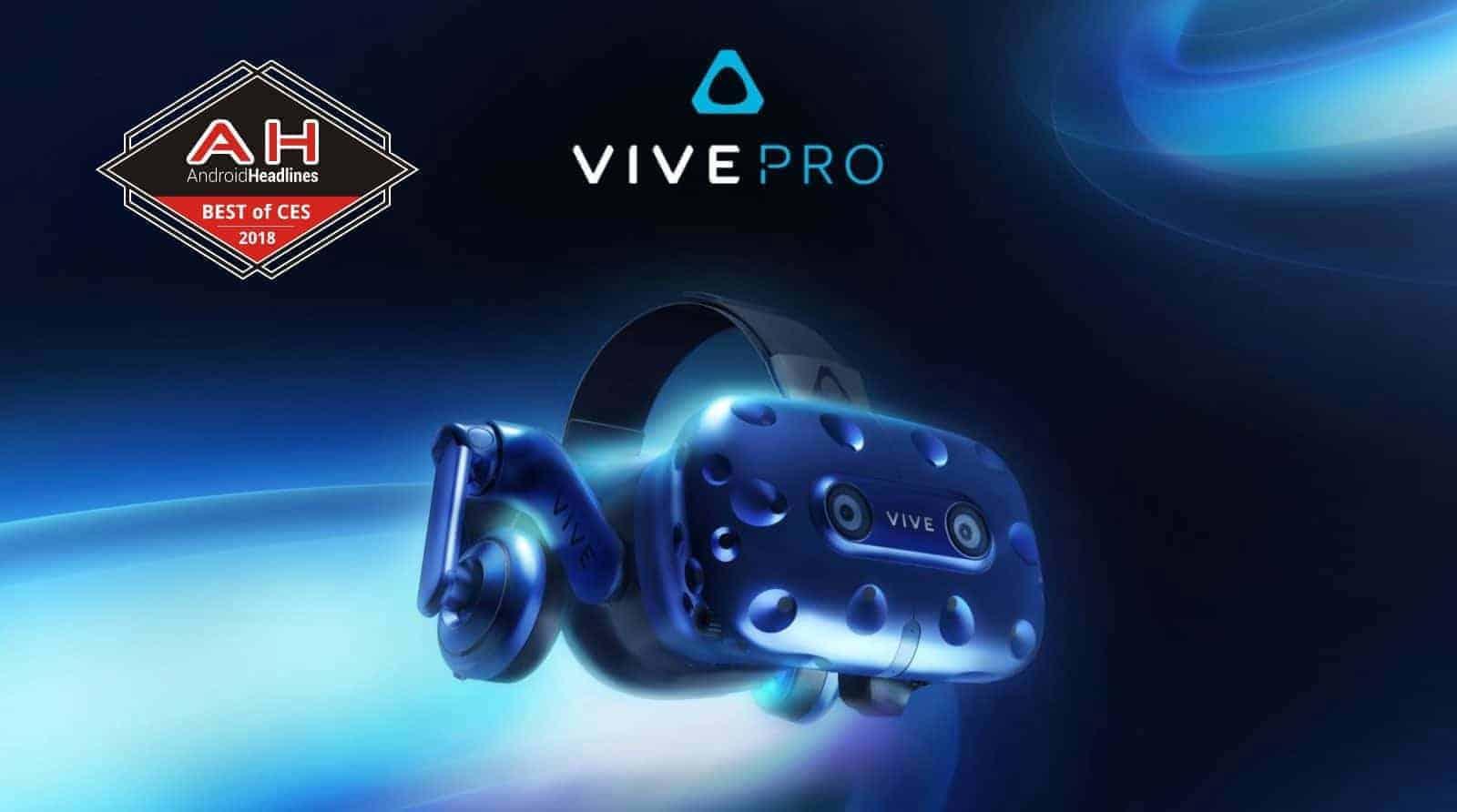 Vive Pro Best Of CES 2018