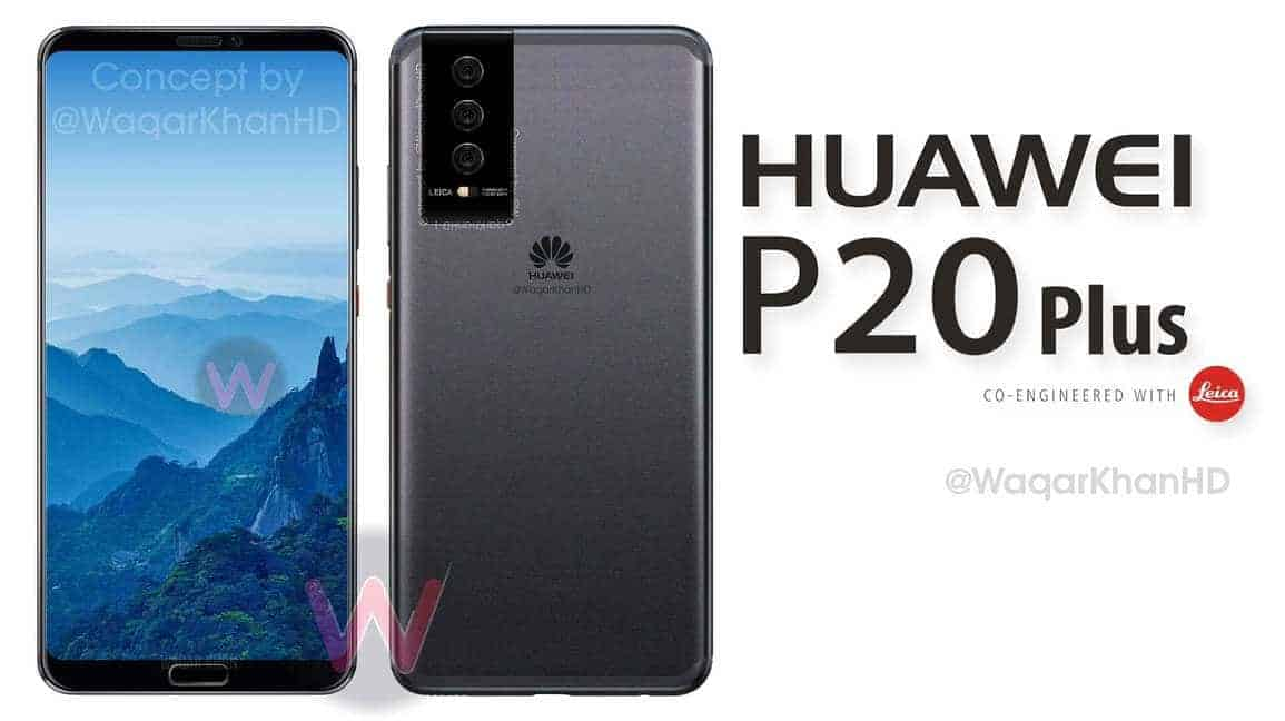 Huawei P20 Concept Renders Surface Based On Schematic Leaks Android News