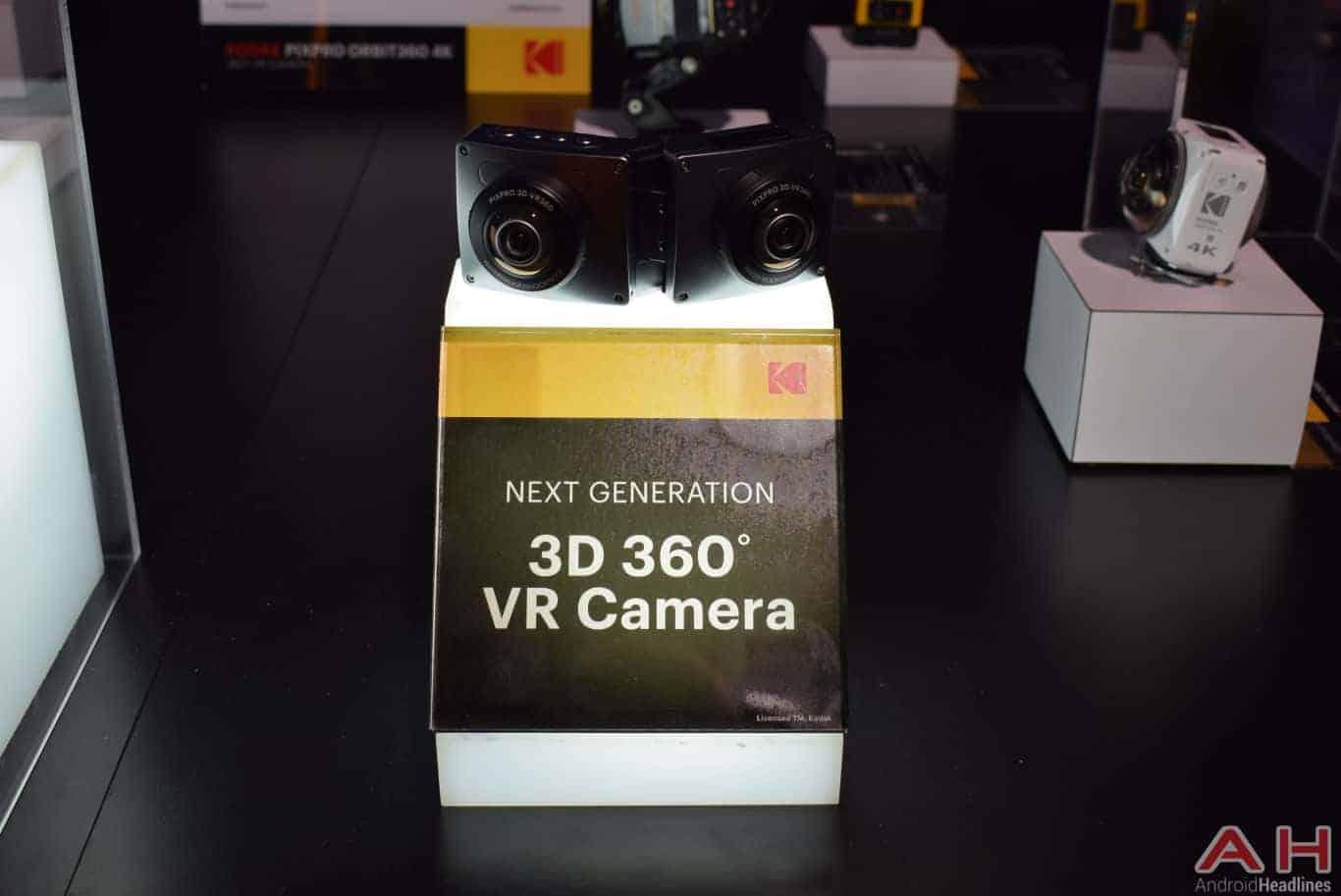 kodak PIXPRO 3D 360 VR Camera CES 2018 AH 1