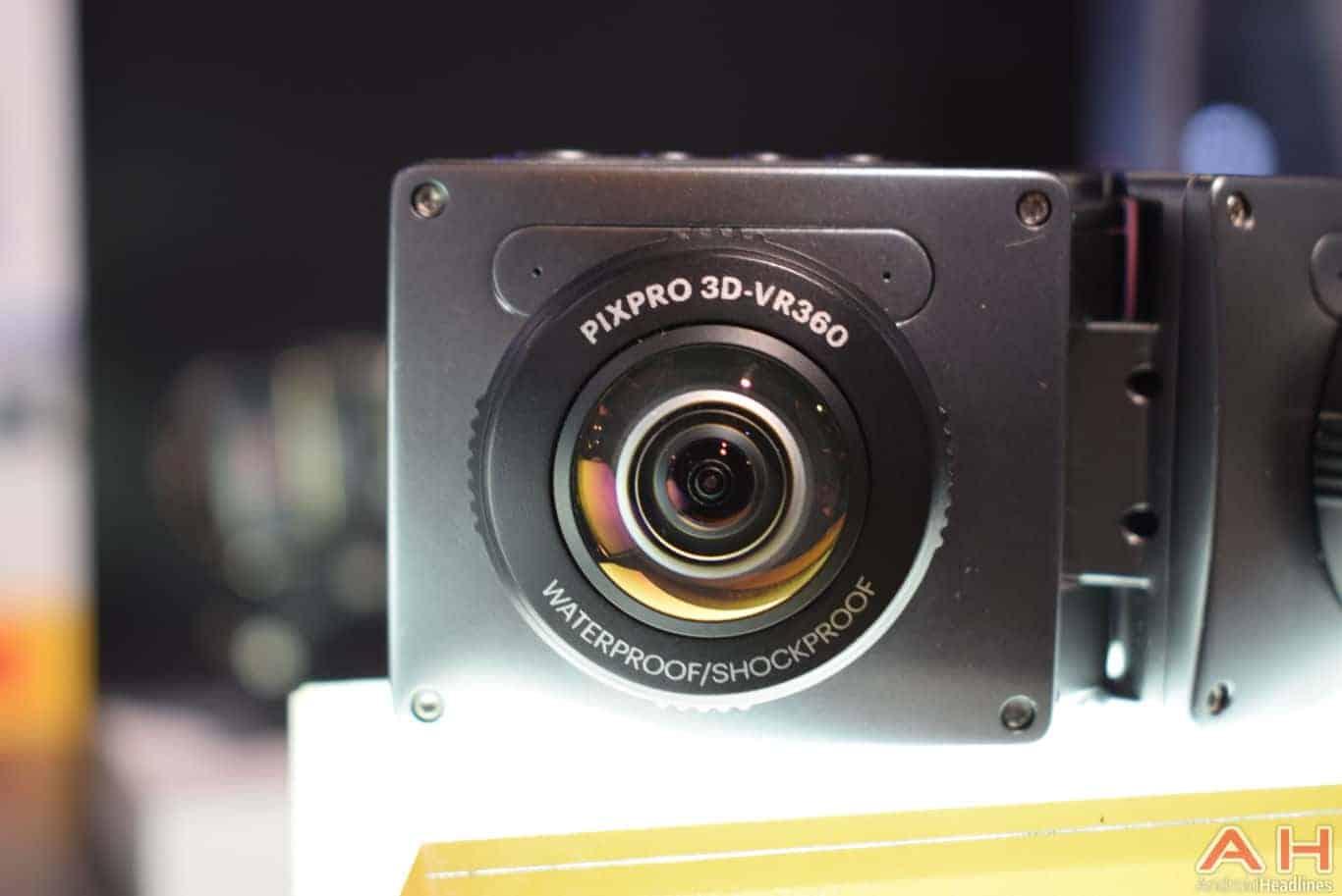kodak PIXPRO 3D 360 VR Camera CES 2018 AH 4