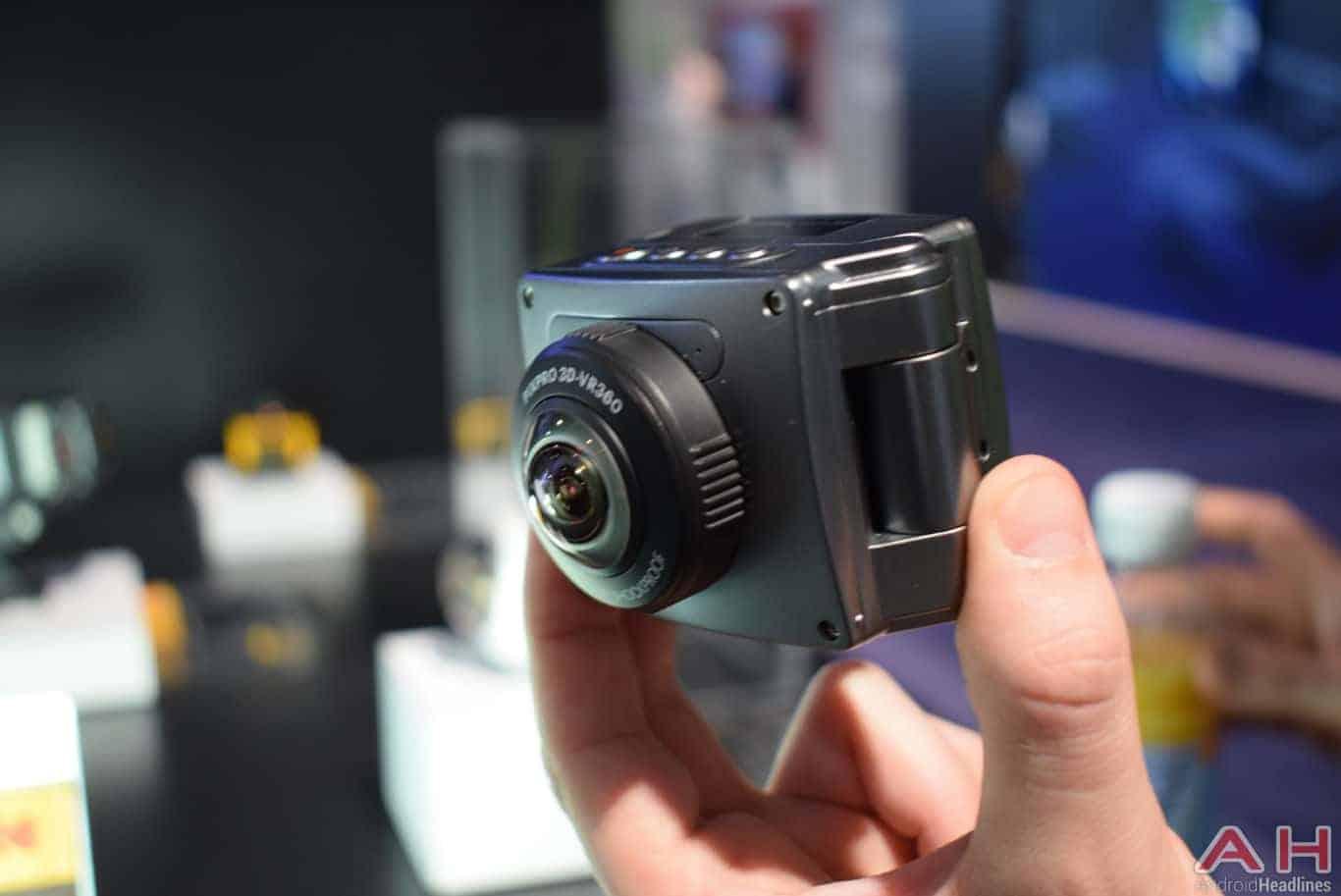 kodak PIXPRO 3D 360 VR Camera CES 2018 AH 6
