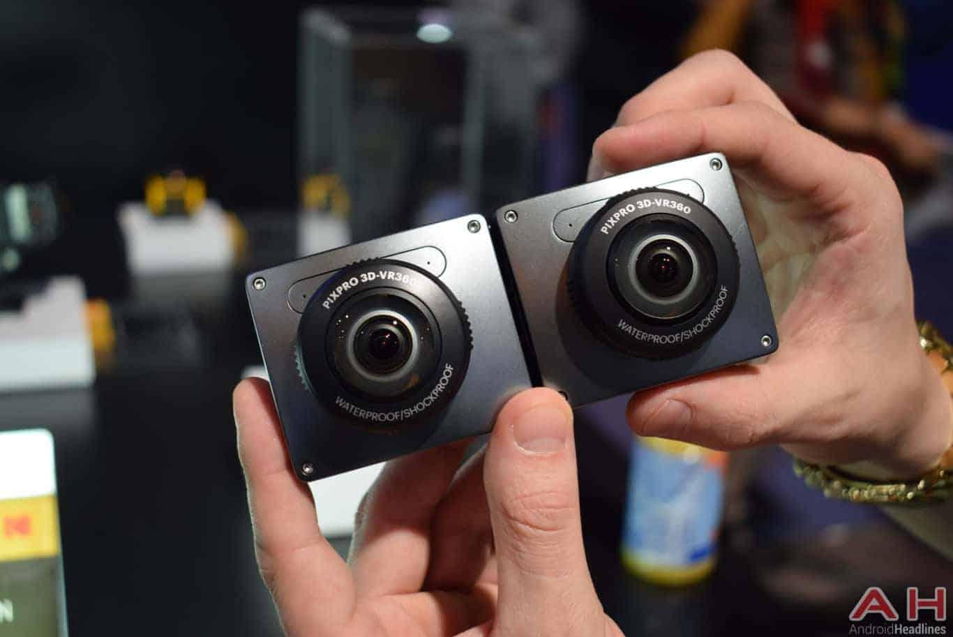 kodak PIXPRO 3D 360 VR Camera CES 2018 AH 7