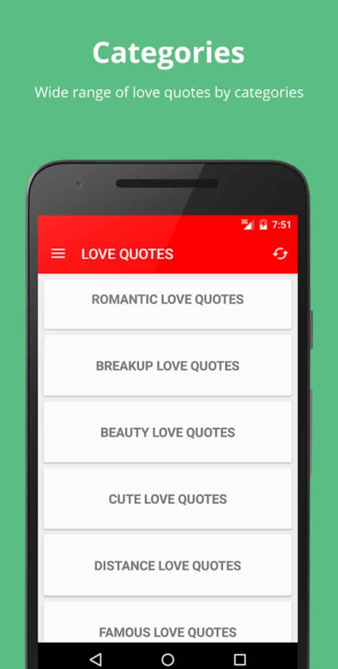 Love Quotes App Best Android Apps  Valentine's Day  February 2018