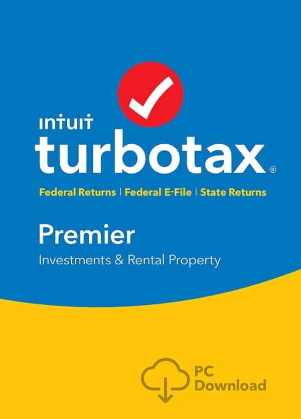 TurboTax Premier Tax Software 2017