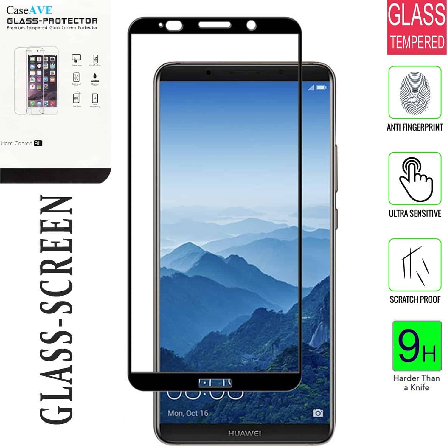 CaseAVE Tempered Glass Screen Protector