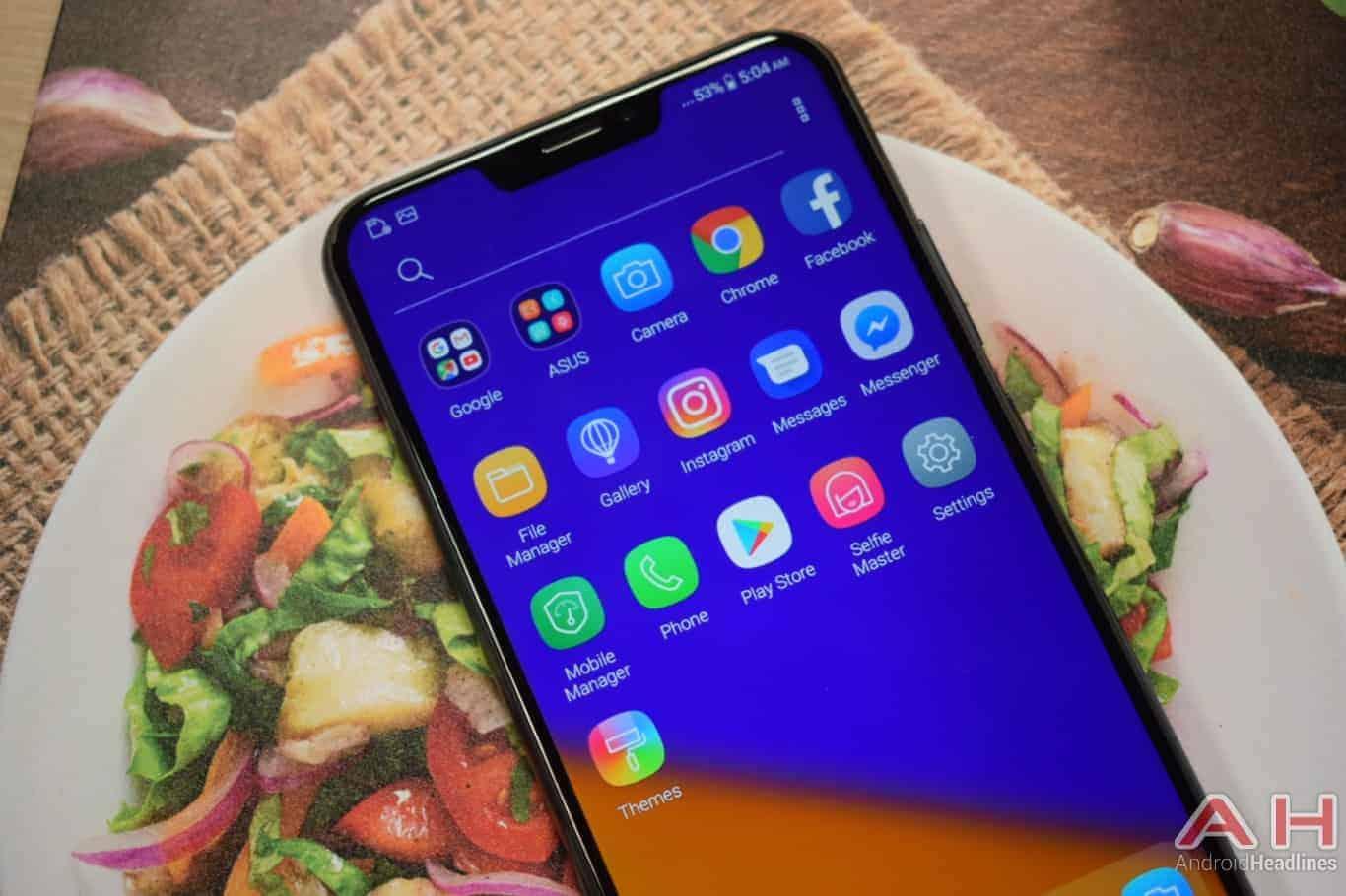 AH ASUS ZenFone 5 hands on MWC 2018 8