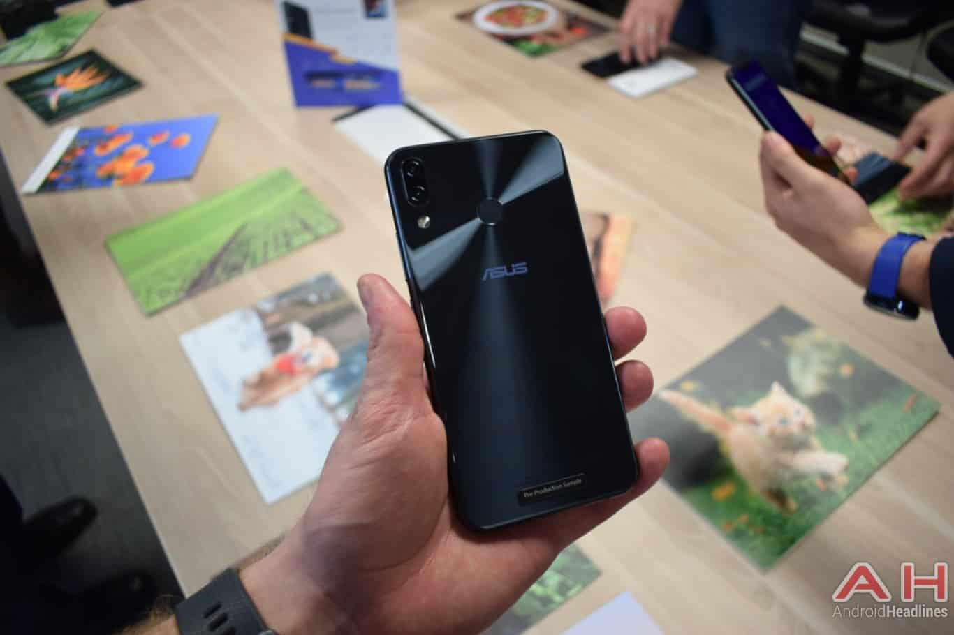 AH ASUS ZenFone 5Z hands on MWC 2018 1