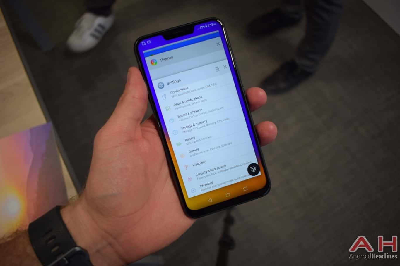 AH ASUS ZenFone 5Z hands on MWC 2018 20