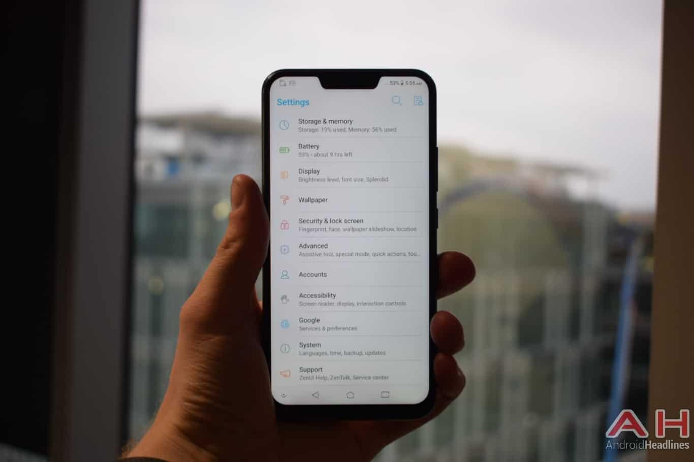 AH ASUS ZenFone 5Z hands on MWC 2018 9