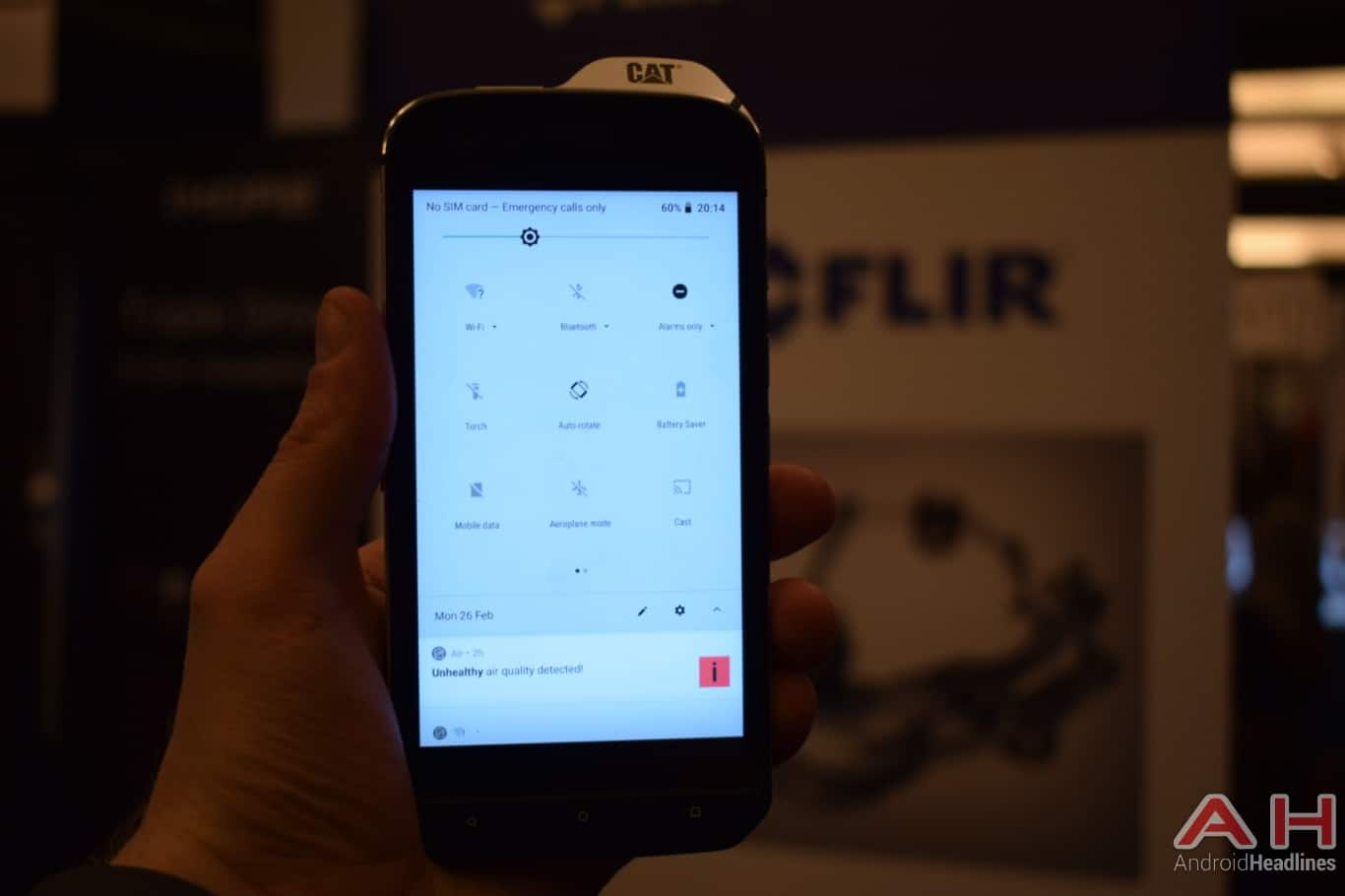 AH CAT S61 MWC 2018 hands on 6