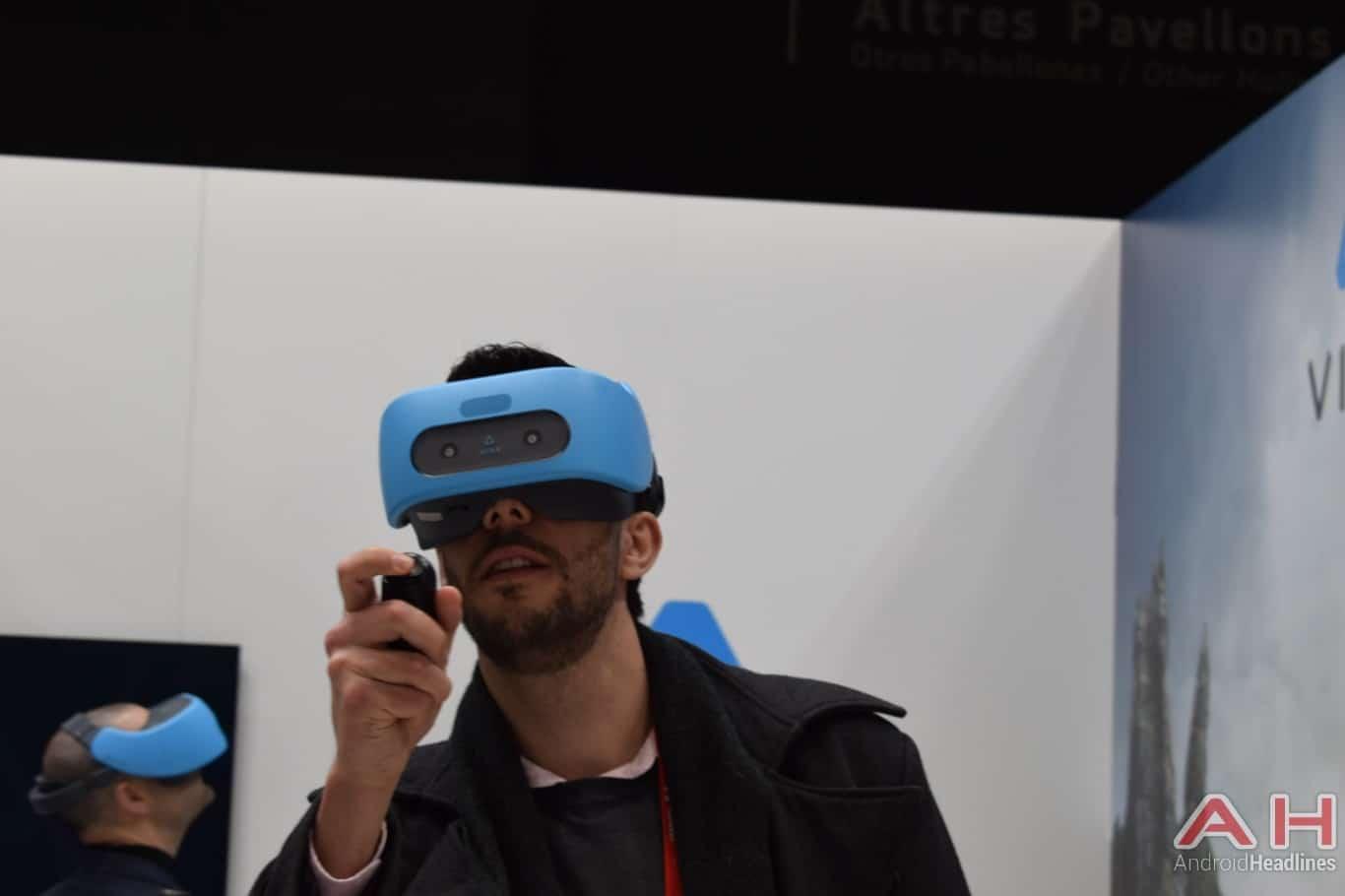 AH HTC Vive Focus MWC 2018 hands on 1