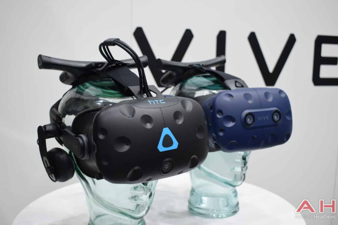 AH HTC Vive Pro MWC 2018 hands on 2