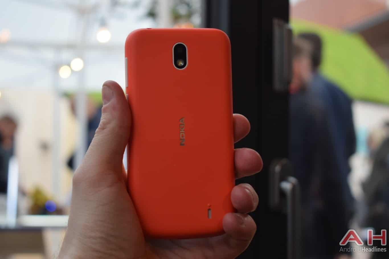 AH Nokia 1 hands on MWC 2018 1