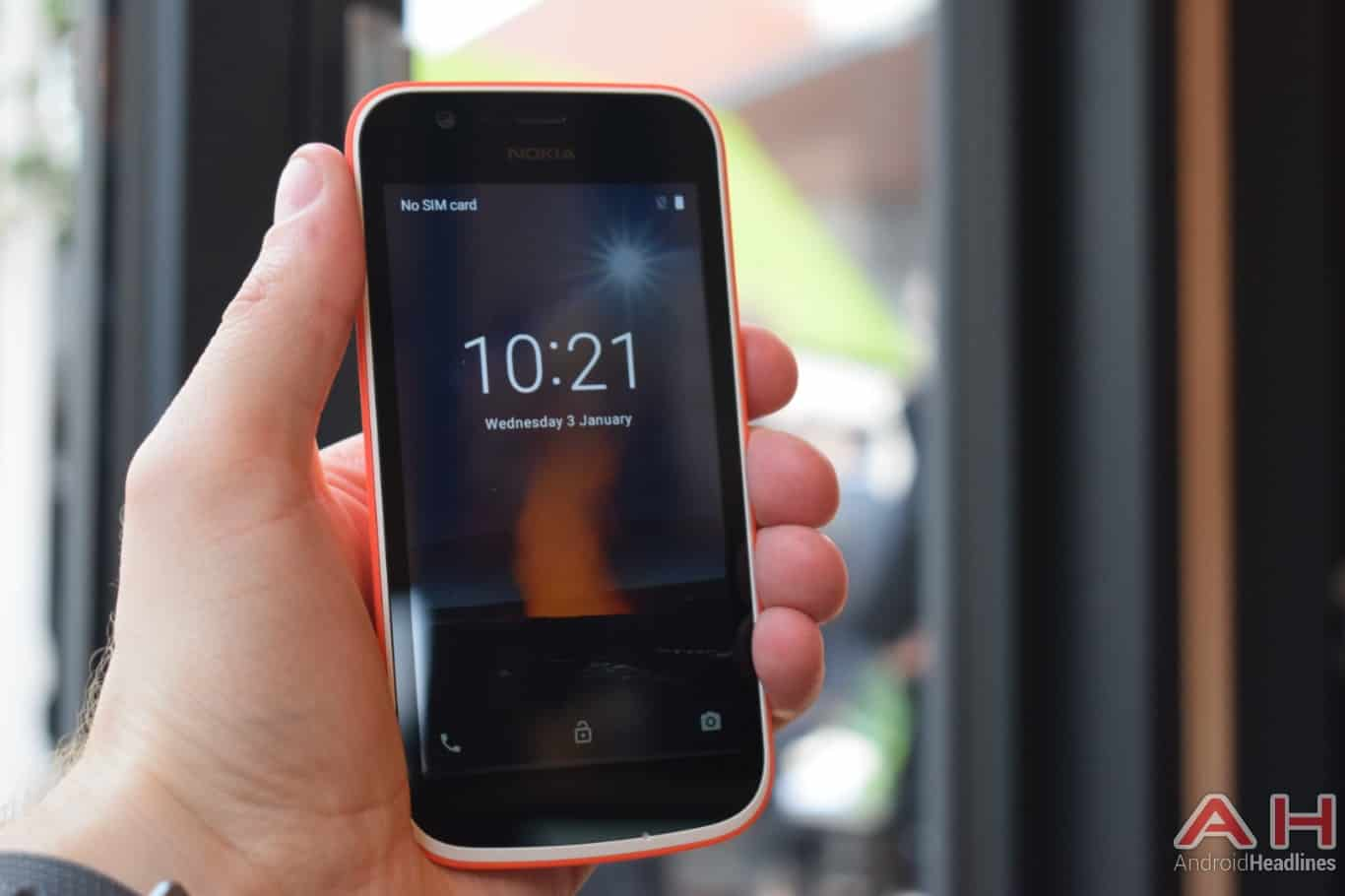 AH Nokia 1 hands on MWC 2018 2