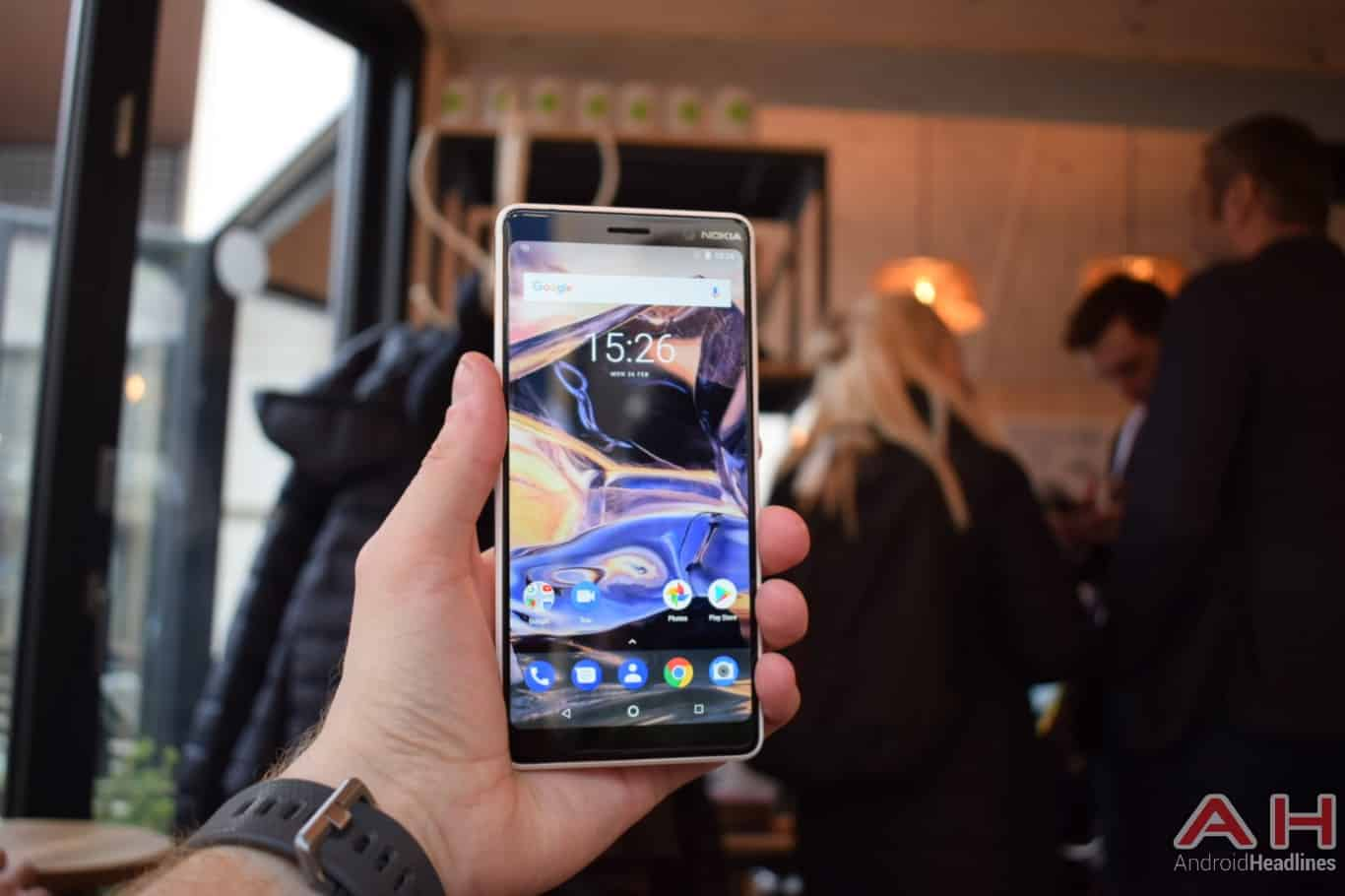 AH Nokia 7 Plus hands on MWC 2018 5