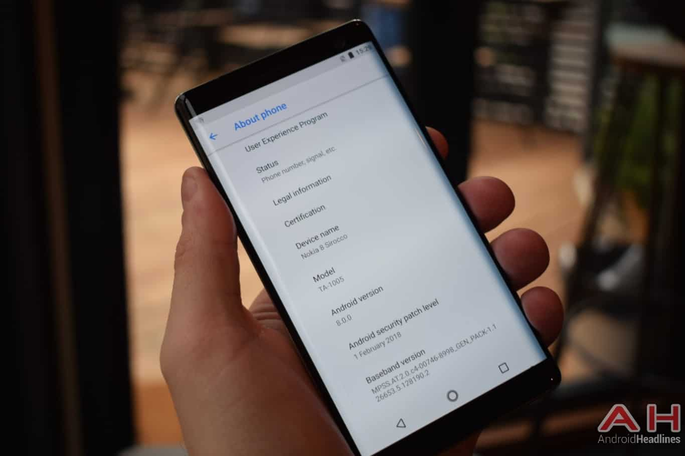 AH Nokia 8 Sirocco hands on MWC 2018 10