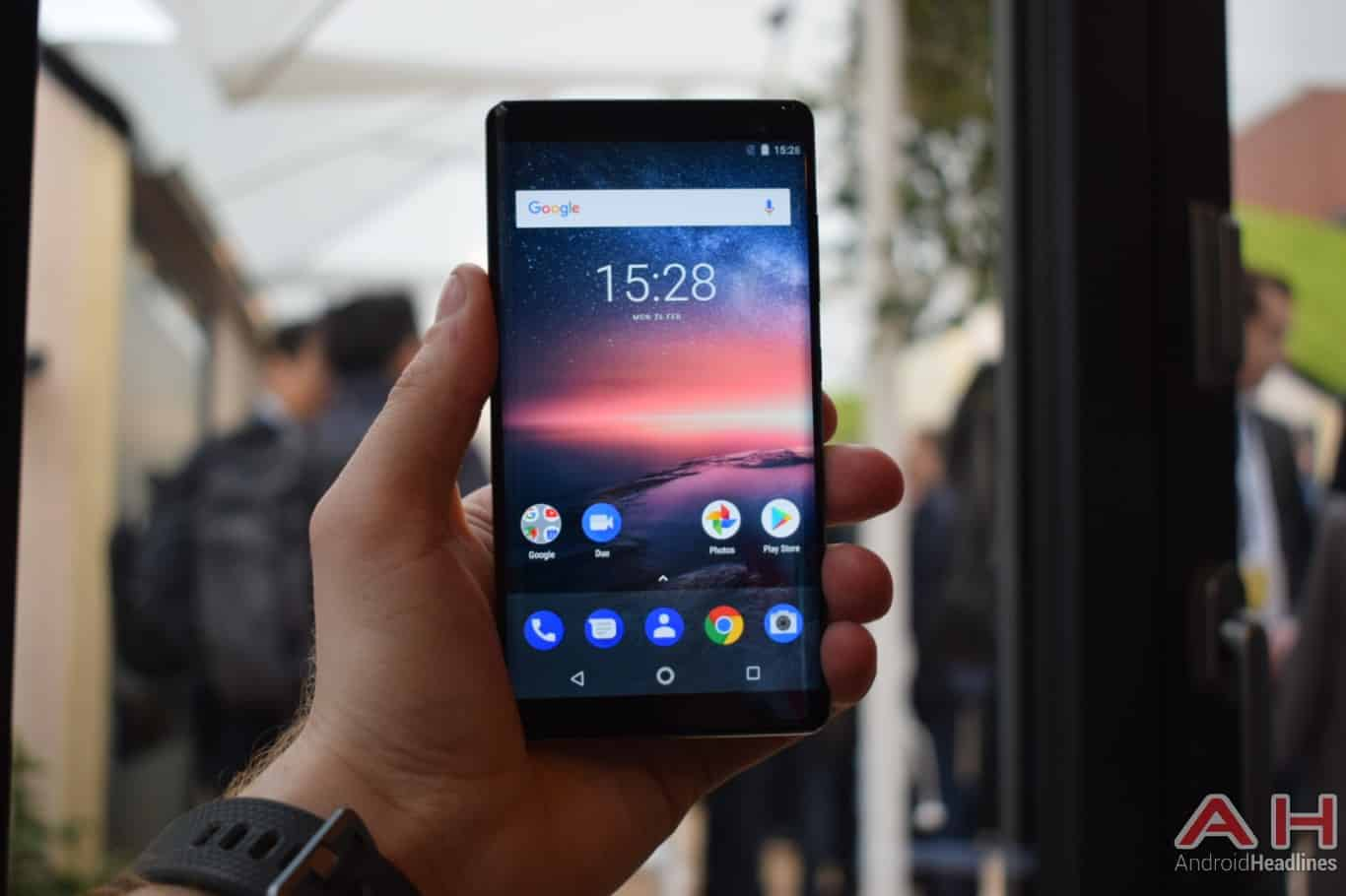 AH Nokia 8 Sirocco hands on MWC 2018 7