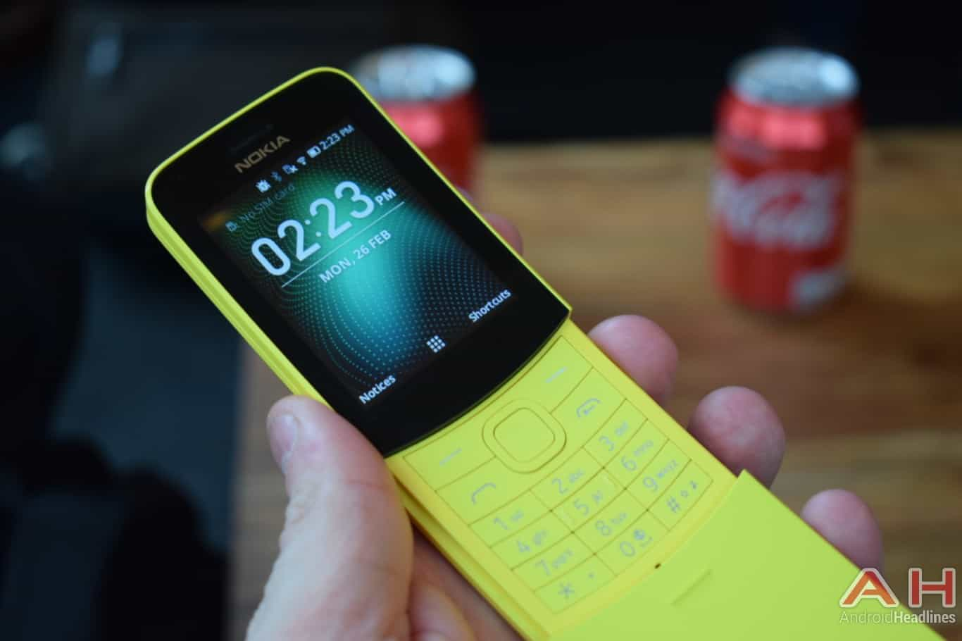 AH Nokia 8110 4G hands on MWC 2018 4