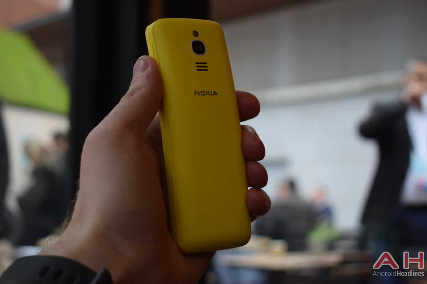 AH Nokia 8110 4G hands on MWC 2018 6