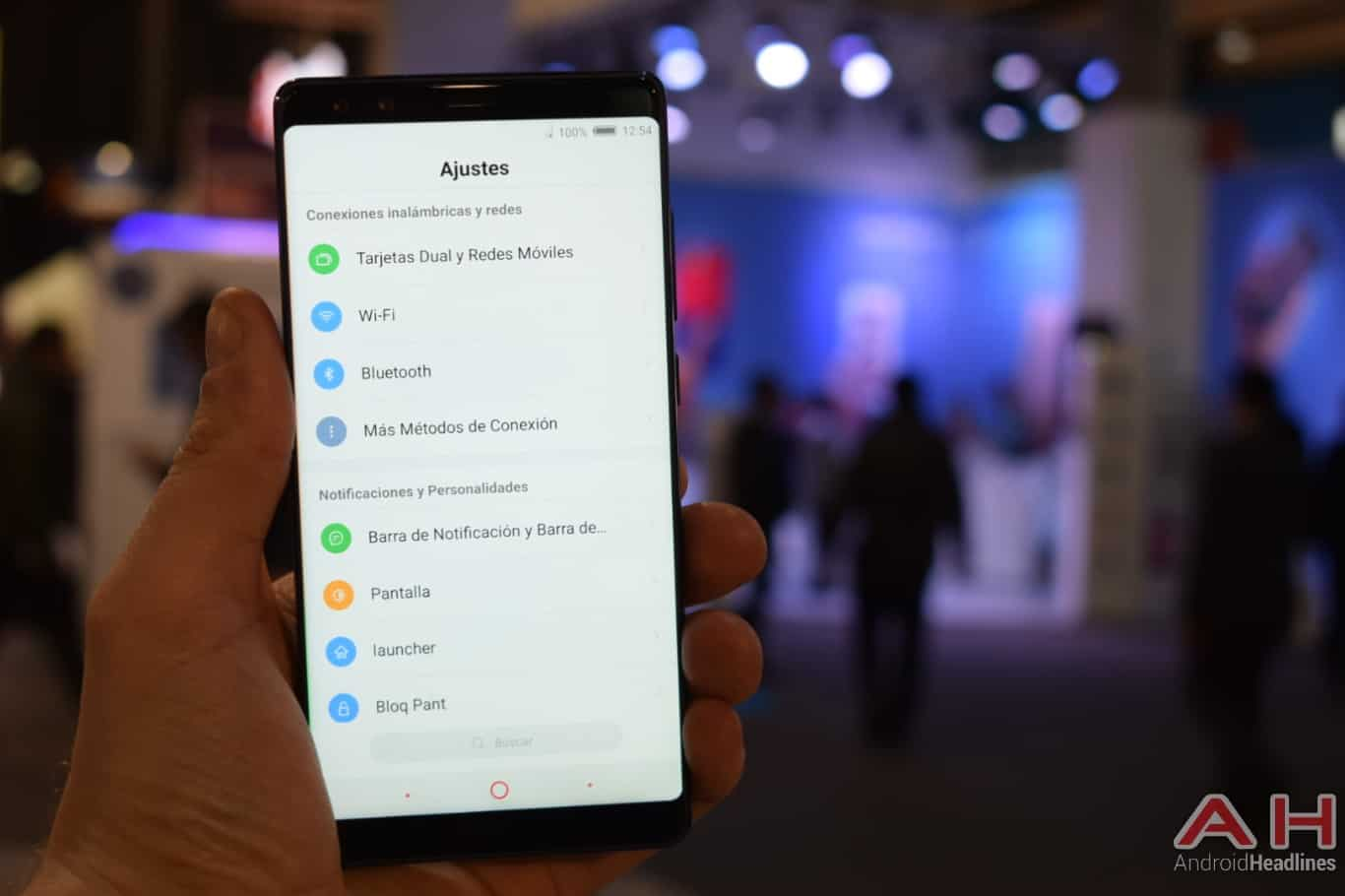 AH Nubia Z17s MWC 2018 hands on 10
