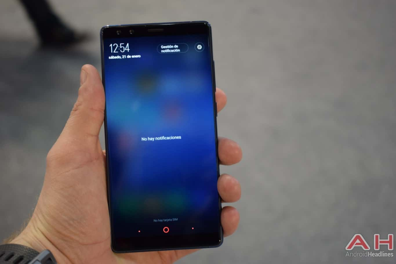 AH Nubia Z17s MWC 2018 hands on 8