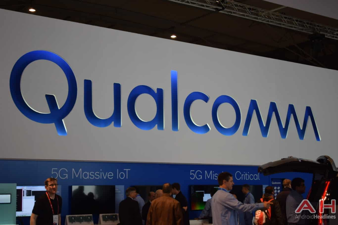 AH Qualcomm logo MWC 2018 1