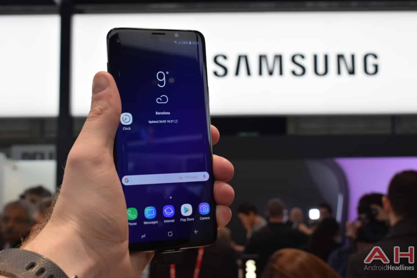 AH Samsung Galaxy S9 Plus MWC 2018 image 116