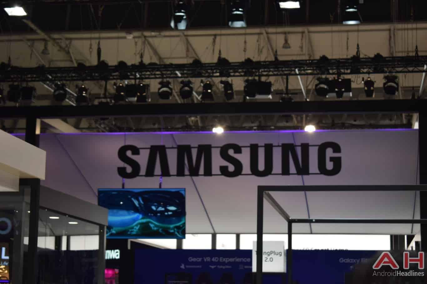 AH Samsung logo MWC 2018 11