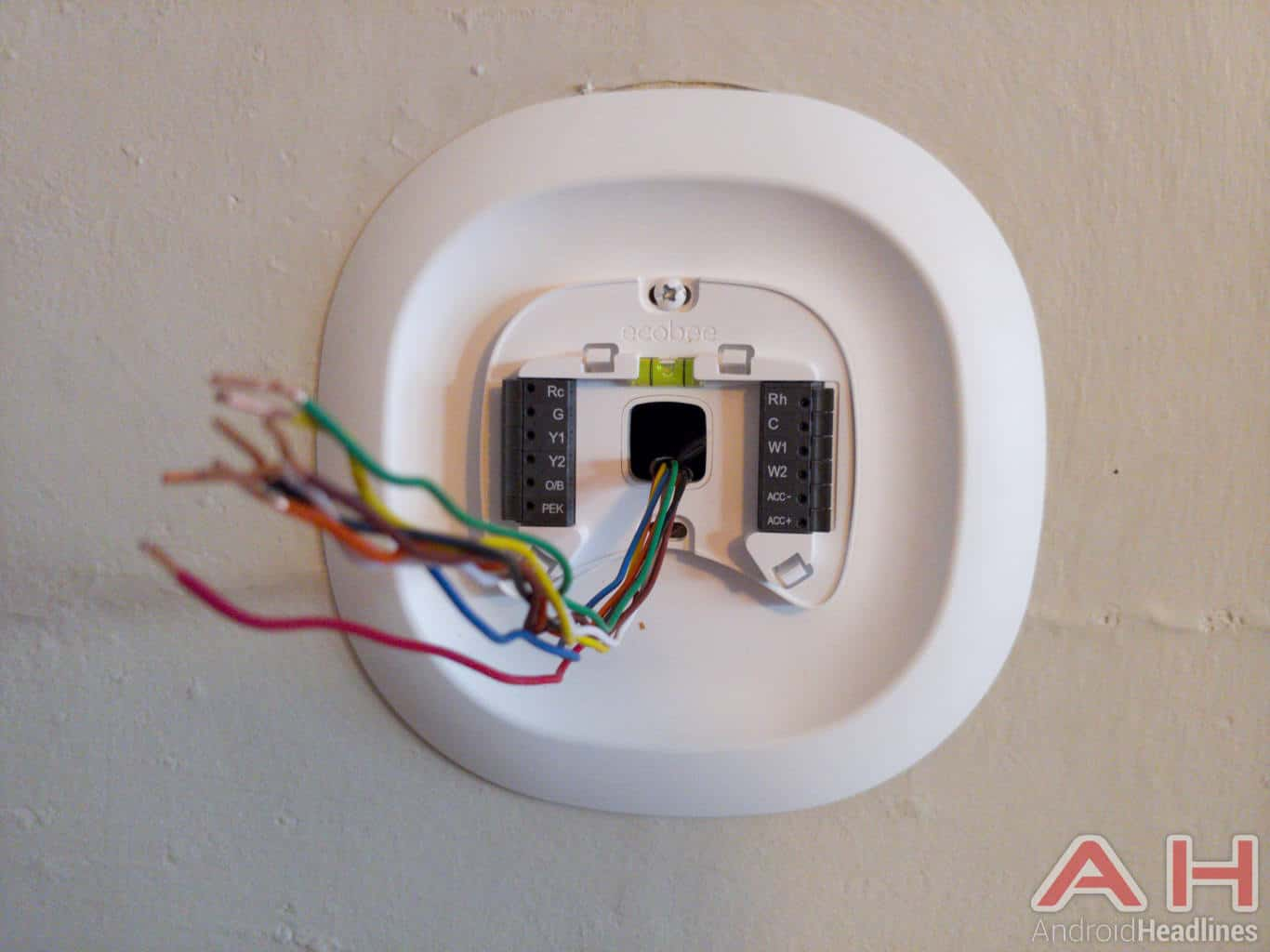 Ecobee Smart Thermostat Review Heart Of The Smart Home Android - Ecobee4 wiring diagram