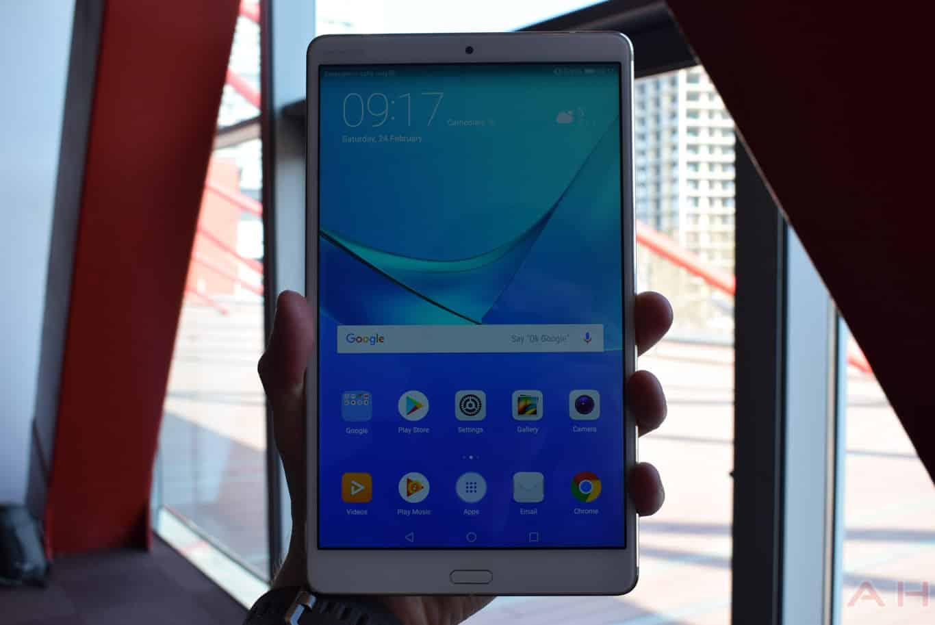 Huawei MediaPad M5 8.4 inch MWC 18 AM AH 3