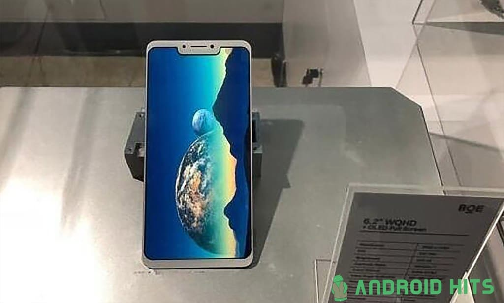 alleged huawei p20 plus leaks with display notch tiny