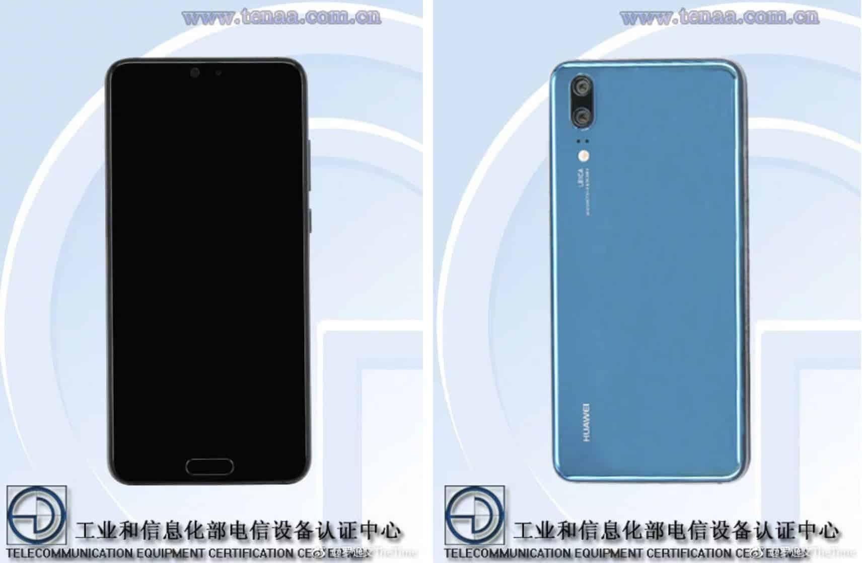 Huawei P20 TENAA Weibo 1