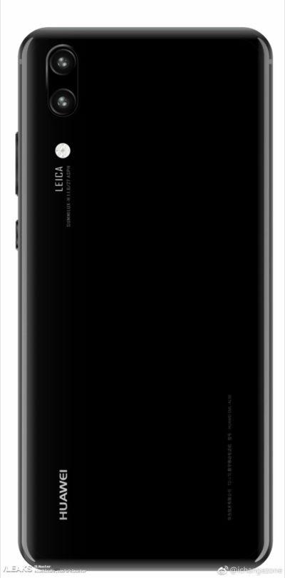 Huawei P20 & P20 Plus Camera Setups Pictured In Renders