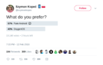 Kope%C4%87 Trolls Xiaomi with a Twitter Poll 02 from Twitter